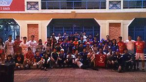 U21 HAGL SVĐ Cẩm Phả 2016