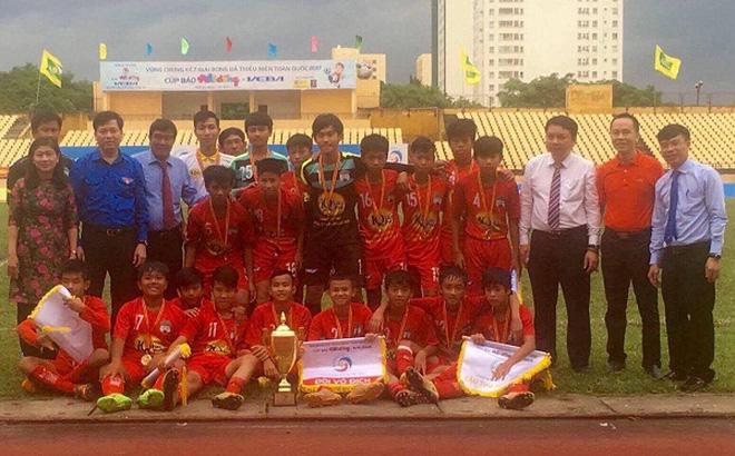 U13 HAGL nâng cao chức vô địch giải U13 Quốc gia