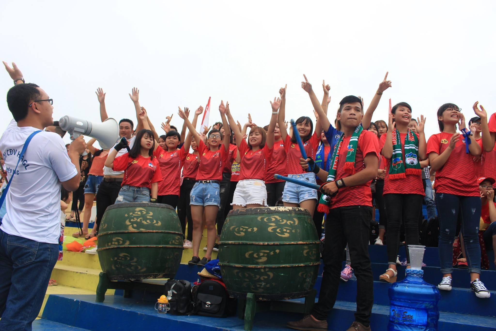 Hội CĐV HAGL miền Bắc Thanh Hóa 02/07/2017